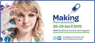 Making Pharma Visit Caleva Stand 2015