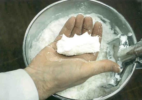 The Hand Squeeze Test is Often used in Formulation Development the MTR is the better way