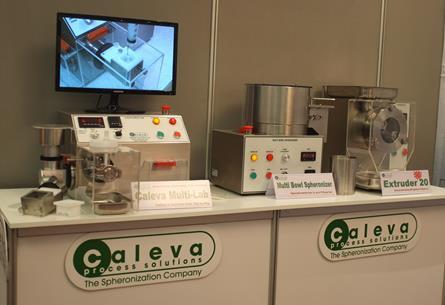 The Caleva Multi Lab on Show at Making Pharma